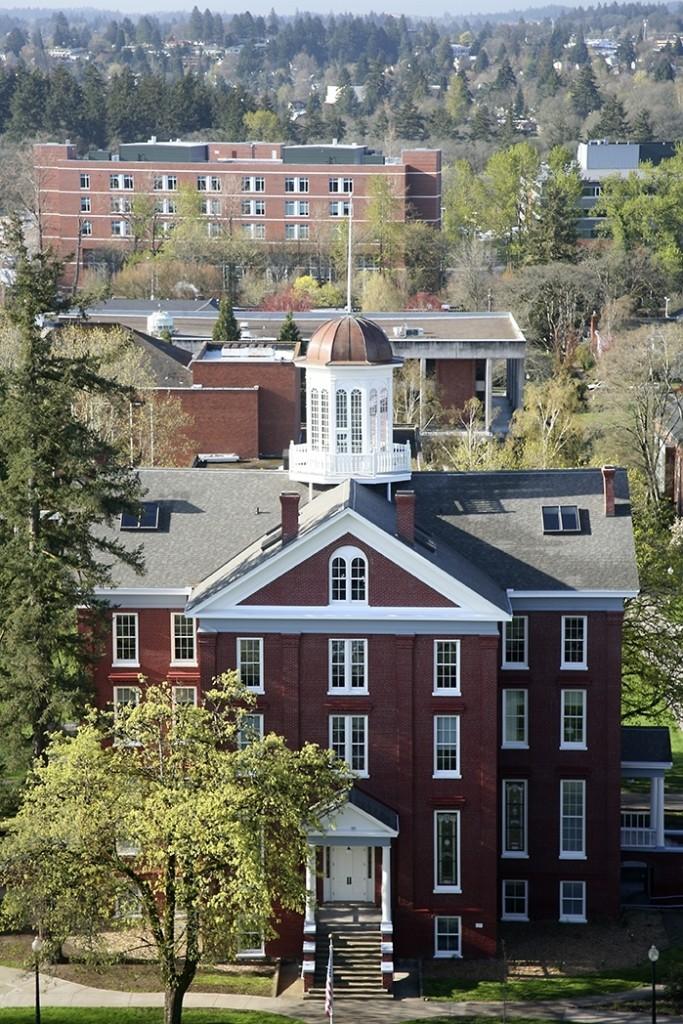 Waller Hall Willamette University Ac Co