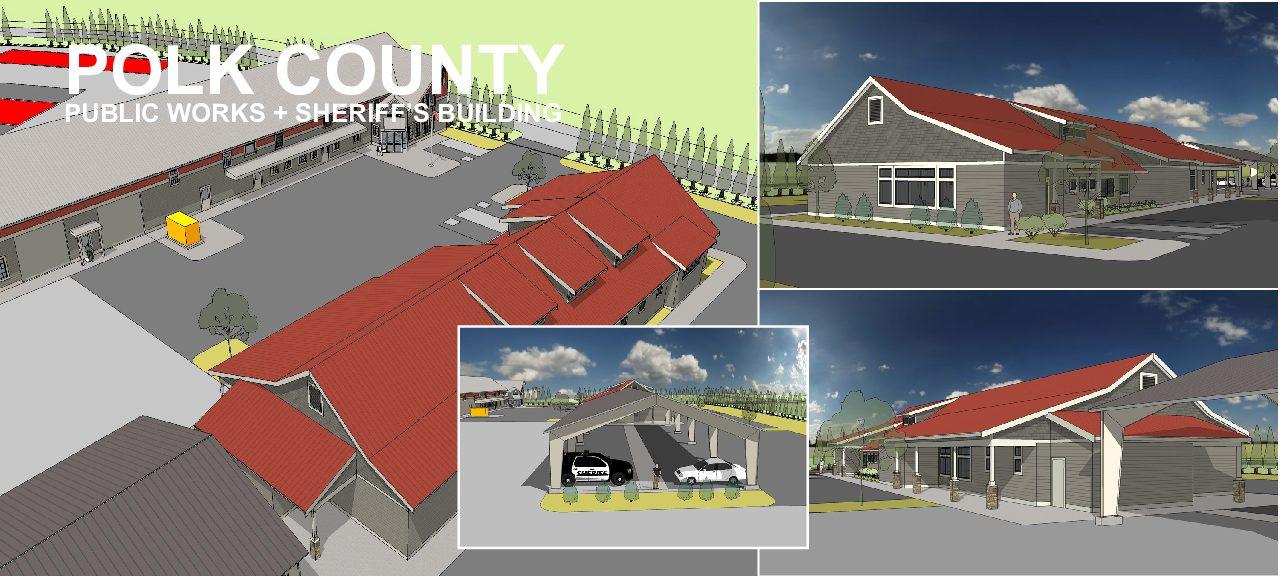 Polk County Public Works + Sheriff's Building